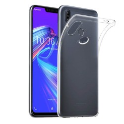Funda Gel Tpu Fina Ultra-Thin 0,5mm Transparente para Asus Zenfone Max (M2)