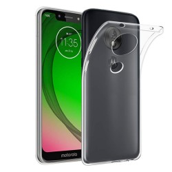 Funda Gel Tpu Fina Ultra-Thin 0,5mm Transparente para Motorola Moto G7 Play