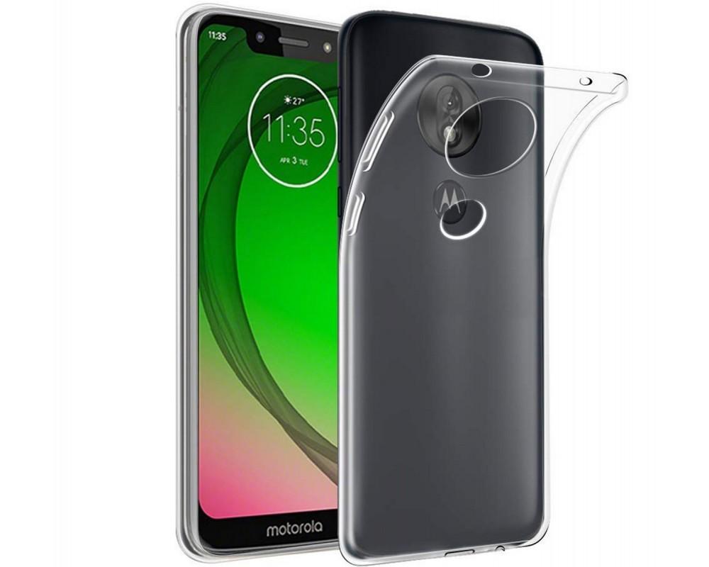 Funda Gel Tpu Fina Ultra-Thin 0,5mm Transparente para Motorola Moto G7 Play