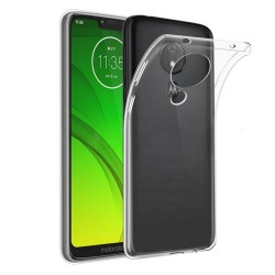 Funda Gel Tpu Fina Ultra-Thin 0,5mm Transparente para Motorola Moto G7 Power