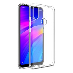 Funda Gel Tpu Fina Ultra-Thin 0,5mm Transparente para Xiaomi Redmi 7