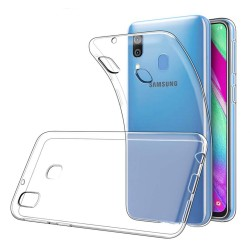 Funda Gel Tpu Fina Ultra-Thin 0,5mm Transparente para Samsung Galaxy A40