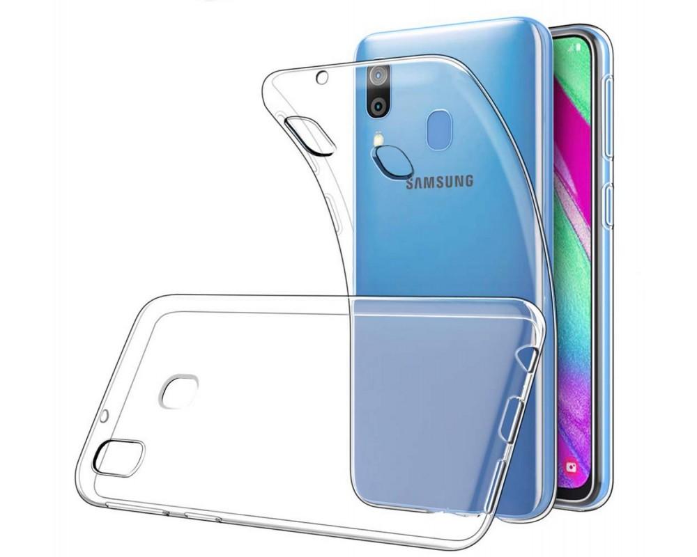 Funda Gel Tpu Fina Ultra-Thin 0,5mm Transparente para Samsung Galaxy A40