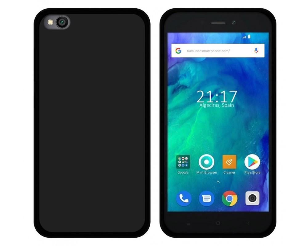 Funda Gel Tpu para Xiaomi Redmi Go Color Negra