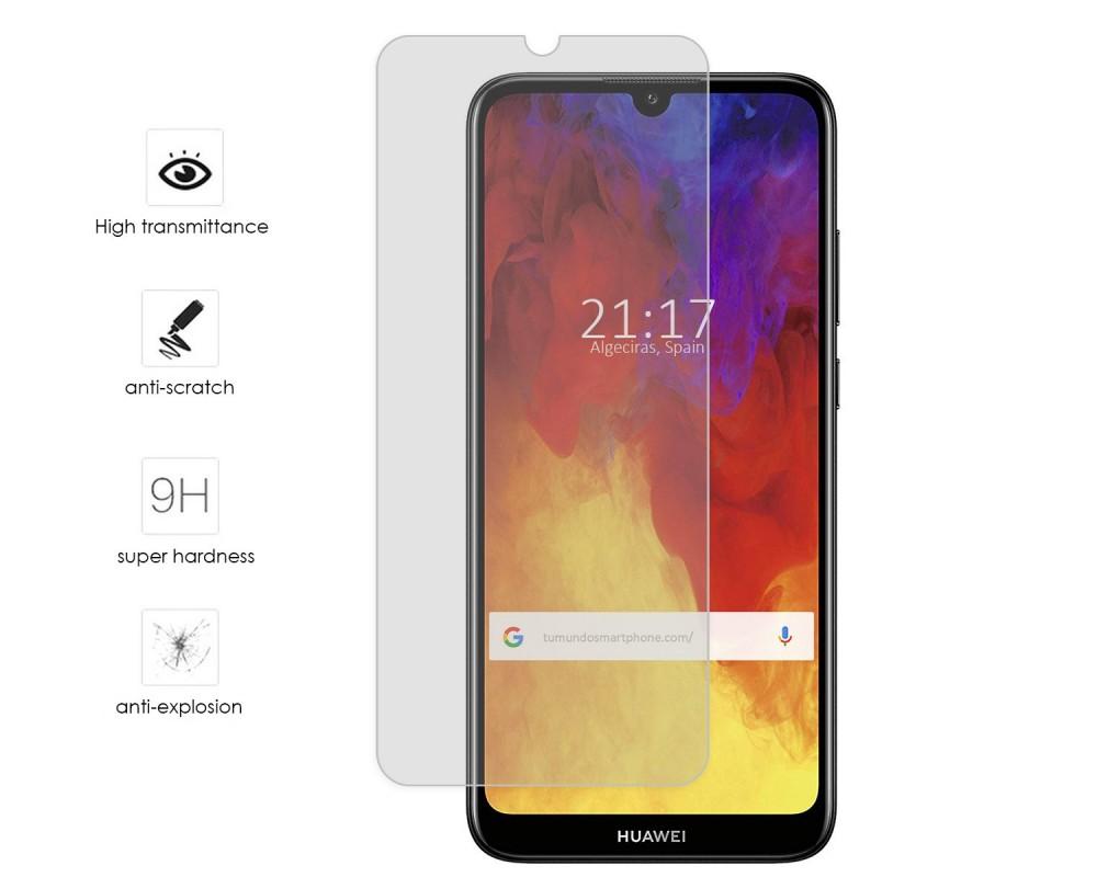 Protector Cristal Templado para Huawei Y6 2019 Vidrio