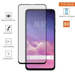 Protector Cristal Templado Completo Full Glue 5D Negro Samsung Galaxy S10e