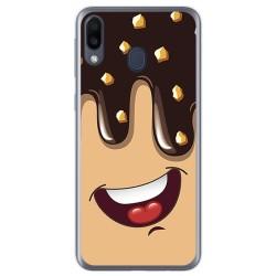 Funda Gel Tpu para Samsung Galaxy M20 diseño Helado Chocolate Dibujos
