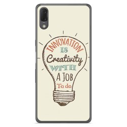 Funda Gel Tpu para Sony Xperia L3 diseño Creativity Dibujos