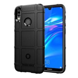 Funda Armor Rugged Shield Antigolpes para Huawei Y7 2019 color Negra