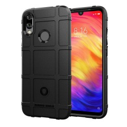 Funda Armor Rugged Shield Antigolpes para Xiaomi Redmi Note 7 color Negra
