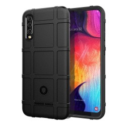 Funda Armor Rugged Shield Antigolpes para Samsung Galaxy A50 / A50s / A30s color Negra