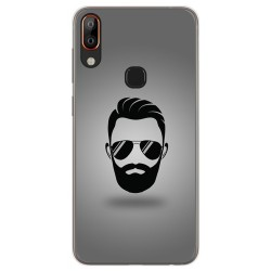 Funda Gel Tpu para Vsmart Active 1+ Plus diseño Barba Dibujos