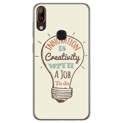 Funda Gel Tpu para Vsmart Active 1+ Plus diseño Creativity Dibujos