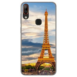 Funda Gel Tpu para Vsmart Active 1+ Plus diseño Paris Dibujos