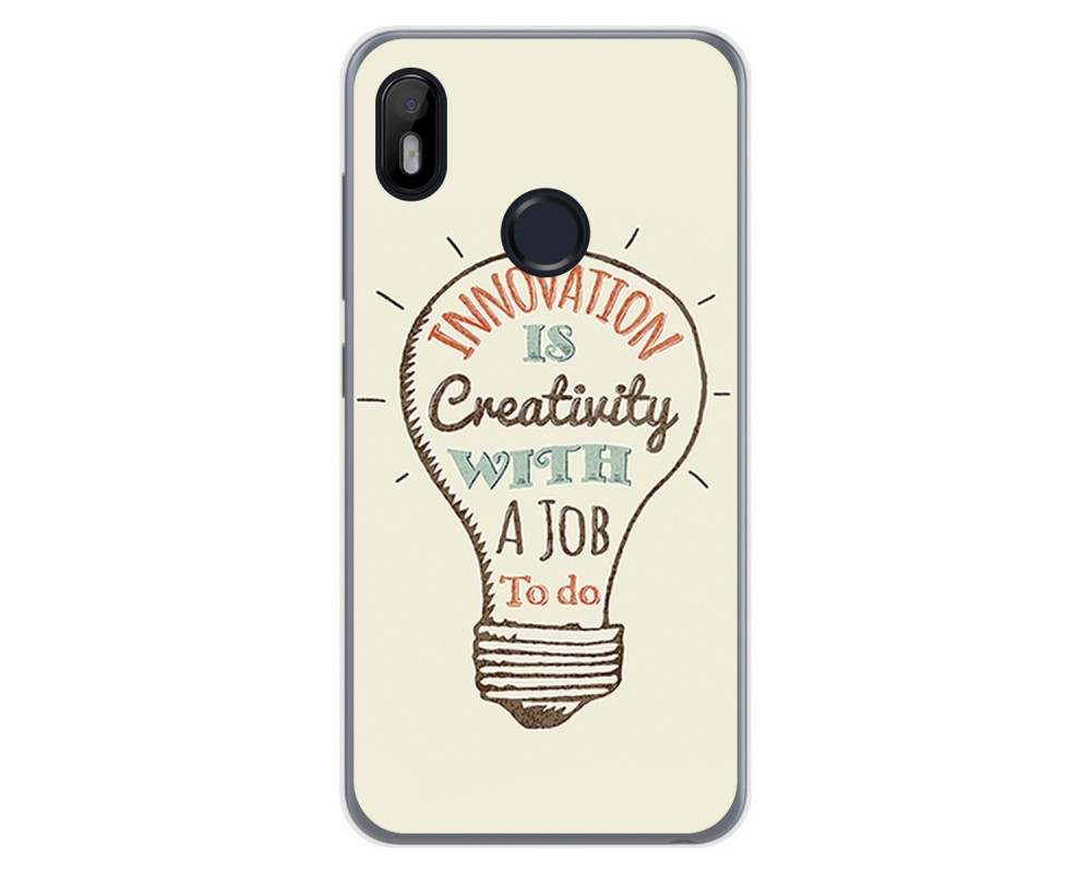 Funda Gel Tpu para VSmart Joy 1 diseño Creativity Dibujos