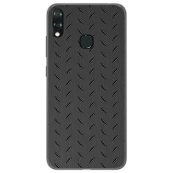 Funda Gel Tpu para Vsmart Joy 1+ Plus diseño Metal Dibujos
