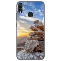 Funda Gel Tpu para Vsmart Joy 1+ Plus diseño Sunset Dibujos