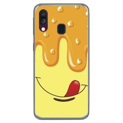 Funda Gel Tpu para Samsung Galaxy A40 diseño Helado Vainilla Dibujos