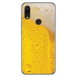 Funda Gel Tpu para Xiaomi Redmi 7 diseño Cerveza Dibujos