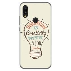 Funda Gel Tpu para Xiaomi Redmi 7 diseño Creativity Dibujos