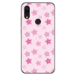Funda Gel Tpu para Xiaomi Redmi 7 diseño Flores Dibujos
