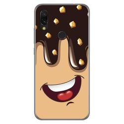 Funda Gel Tpu para Xiaomi Redmi 7 diseño Helado Chocolate Dibujos