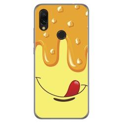Funda Gel Tpu para Xiaomi Redmi 7 diseño Helado Vainilla Dibujos