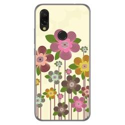 Funda Gel Tpu para Xiaomi Redmi 7 diseño Primavera En Flor Dibujos