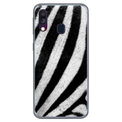Funda Gel Tpu para Samsung Galaxy A40 diseño Animal 02 Dibujos