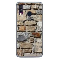 Funda Gel Tpu para Samsung Galaxy A40 diseño Ladrillo 03 Dibujos