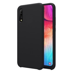 Funda Silicona Líquida Ultra Suave para Samsung Galaxy A50 / A50s / A30s color Negra