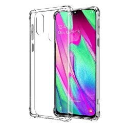 Funda Gel Tpu Anti-Shock Transparente para Samsung Galaxy A40