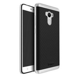 Funda Tipo Neo Hybrid (Pc+Tpu) Negra / Plata para Xiaomi Redmi 4