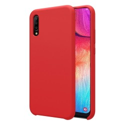 Funda Silicona Líquida Ultra Suave para Samsung Galaxy A50 / A50s / A30s color Roja