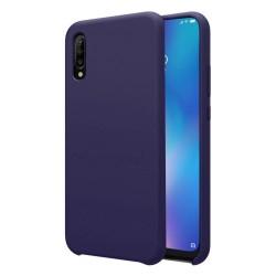Funda Silicona Líquida Ultra Suave para Xiaomi Mi 9 color Azul
