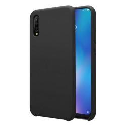 Funda Silicona Líquida Ultra Suave para Xiaomi Mi 9 color Negra