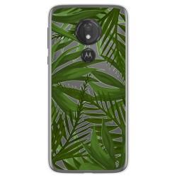 Funda Gel Transparente para Motorola Moto G7 Power diseño Jungla Dibujos