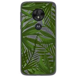 Funda Gel Transparente para Motorola Moto G7 Play diseño Jungla Dibujos