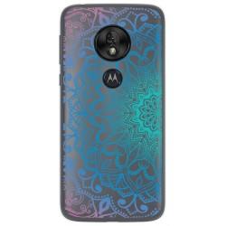 Funda Gel Transparente para Motorola Moto G7 Play diseño Mandala Dibujos