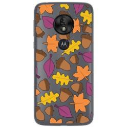 Funda Gel Transparente para Motorola Moto G7 Play diseño Otoño Dibujos