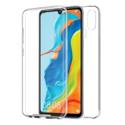 Funda Completa Transparente Pc + Tpu Full Body 360 para Huawei P30 Lite