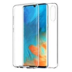 Funda Completa Transparente Pc + Tpu Full Body 360 para Huawei P30 Pro