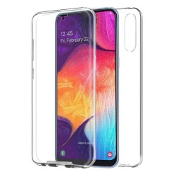 Funda Completa Transparente Pc + Tpu Full Body 360 para Samsung Galaxy A50 / A50s / A30s