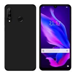 Funda Gel Tpu para Huawei P30 Lite Color Negra