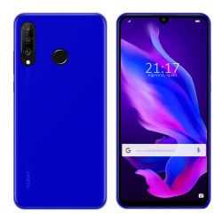 Funda Gel Tpu para Huawei P30 Lite Color Azul