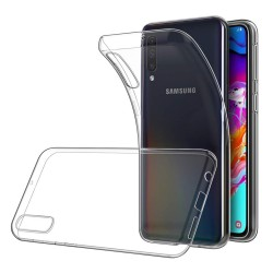 Funda Gel Tpu Fina Ultra-Thin 0,5mm Transparente para Samsung Galaxy A70