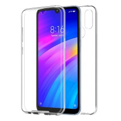Funda Completa Transparente Pc + Tpu Full Body 360 para Xiaomi Redmi 7