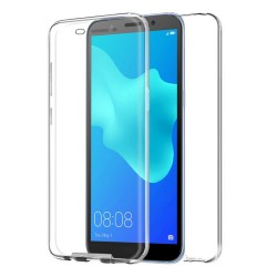 Funda Completa Transparente Pc + Tpu Full Body 360 para Xiaomi Redmi Go