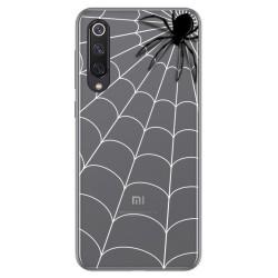 Funda Gel Transparente para Xiaomi Mi 9 SE diseño Araña Dibujos