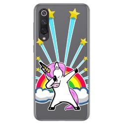Funda Gel Transparente para Xiaomi Mi 9 SE diseño Unicornio Dibujos